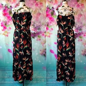 💠Just in💠 Mossimo-Bird of Paradise Maxi Dress